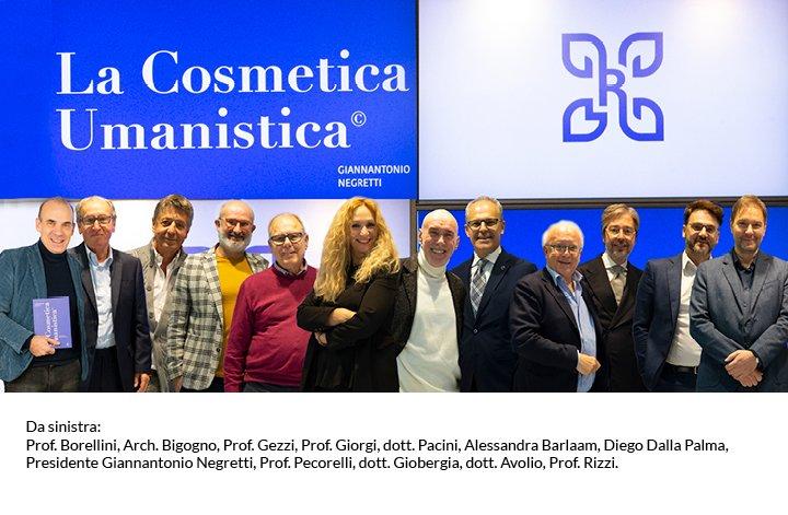 Foto di gruppo dei Beauty Pioneers al vertice presso la NG Group di Brescia